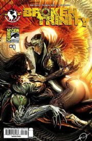 Broken Trinity #1 San Diego SDCC Sejic Variant (2008) Witchblade The Darkness Top Cow comic book